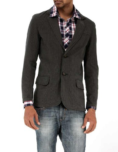 Basics Men Cotton Slim Fit Blazer