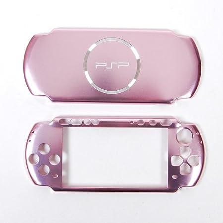 Sony PSP 3000 Hard Aluminum Cover Skin Case Pink