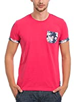 JACK WILLIAMS Camiseta Manga Corta (Fucsia)