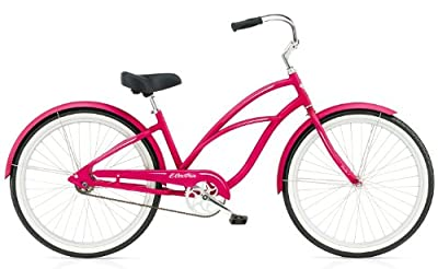 Electra Coaster 1 Women's Urban Bike - Electric Pink, 26 Inch