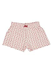 Poppers by Pantaloons Girl's Cotton Shorts (205000005662107, Pink, 7-8 Years)