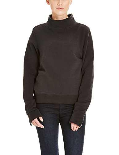 Bench Repay, Felpa Donna, Schwarz (Black BK014), Medium