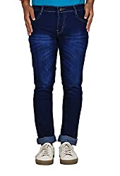 Bdow Slim fit denim jeans for men (30)