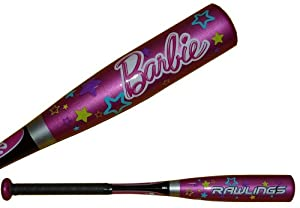 Rawlings Barbie Tee Ball Bat 24, 14 oz. by Rawlings