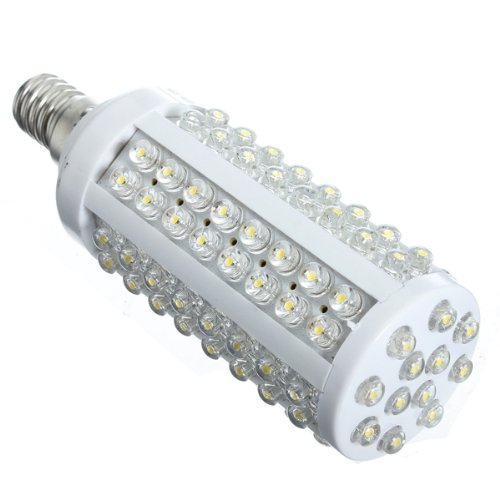 Goodsgood E14 220V Warm White 7W 108 Led Corn Light Bulb Lamp