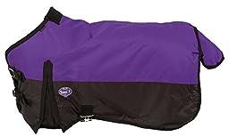 Tough 1 600D Waterproof Poly Miniature Turnout Blanket, Purple, 48\