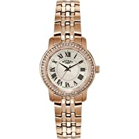 Rotary LB02597-41 Ladies Rose Gold Stone Set Watch