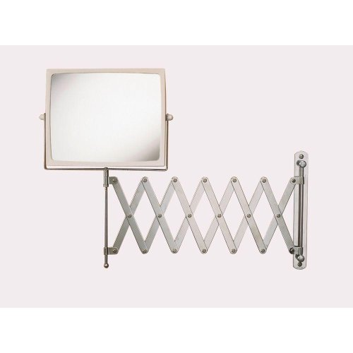 J2020C Wall Mount Hind Sight Mirror In Chrome/White - Mirror-Yow front-990938