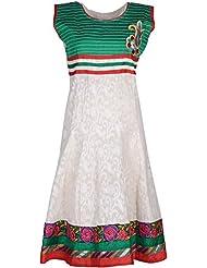 Elegant Blended Women Kurta (32861yoy, Cream, Free Size)