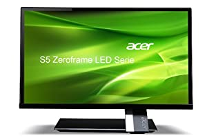 Acer S275HLBMII 27-inch Monitor 16:9 FHD ZeroFrame IPS LED CrystalBrite 6 ms 100M:1 250 nits 6 ms HDMIx2 MM Acer EcoDisplay