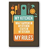 BikriKendra What Happen In My Kitchen Poster Ll Size 30 Cm X 45 Cm Ll