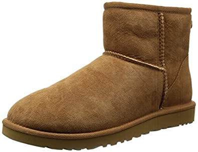 UGG Australia Women's Classic Mini Boot, Chestnut, 5