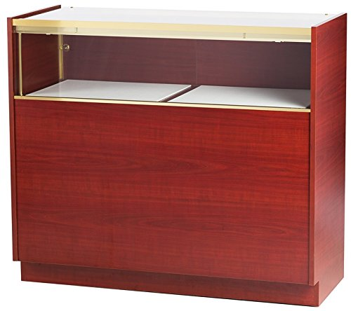 Tecno Display 4 Quarter-Vision Jewelry Case With Solid Sides And Led Lighting, Gl113-4-Led, Gl113 4 Led, Gl1134Led