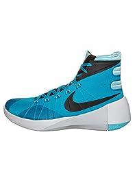 Nike Hyperdunk 2015 Men Basketball Shoes New Blue Lagoon Black
