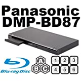 PANASONIC DMP-BD87 w Built-in Wi-Fi CodeFree Blu ray Player MultiZone Region Code Free DVD 012345678 PAL/NTSC...
