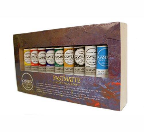 gamblin-fastmatte-alkyd-oil-colors-set-by-gamblin