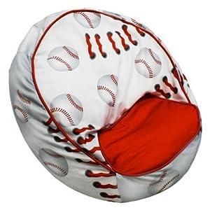 co Kids Baseball Bean Chair by Newco International Inc