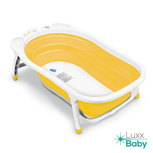 luxx baby bf1 folding bath tub by karibu w non slip mat yellow lazada malaysia. Black Bedroom Furniture Sets. Home Design Ideas