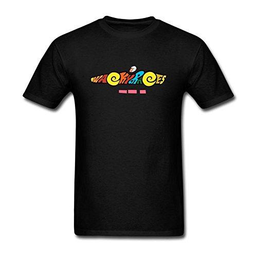 JuDian Wacky Races Cartoon Logo T Shirt For