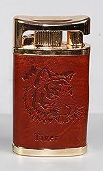 Designer Butane Jet Flame Cigarette Lighter With Leather Finish-LIT456