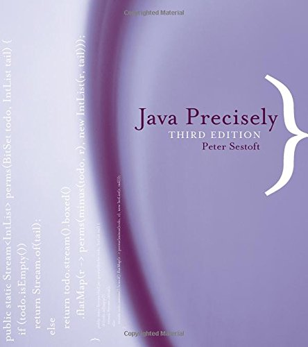 Java Precisely (MIT Press), by Peter Sestoft