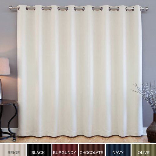 Discount Wide Width Grommet Top Thermal Blackout Curtain