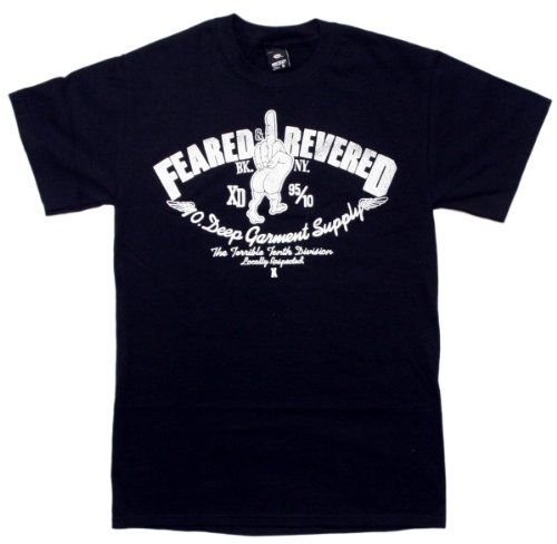 Feared & Reverd Mens S/S T-Shirt In Black By 10 Deep, Size: Large, Color: Black