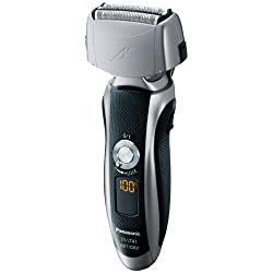 Panasonic ES-LT41-K Mens 3-Blade (Arc 3) Wet/Dry Rechargeable Electric Shaver with Nanotech Blades Black/Silver