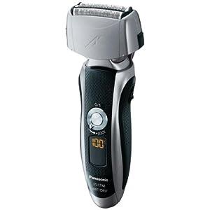 Panasonic ES-LT41-K Men's 3-Blade (Arc 3) Wet/Dry Rechargeable Electric Shaver with Nanotech Blades, Black/Silver