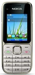 Nokia C2-01 Téléphone Portable 3G Argent