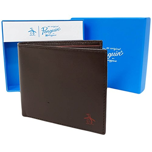 original-penguin-leather-wallet-card-note-holder-6215-coffee-bean