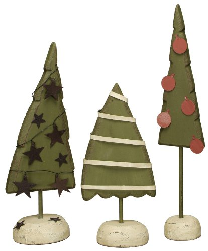 Primitives by Kathy DiPaolo Tabletop Tree Set