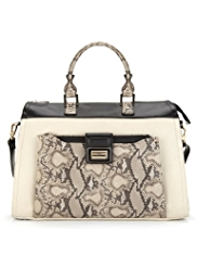 M&S Collection Faux Snakeskin Tote Bag