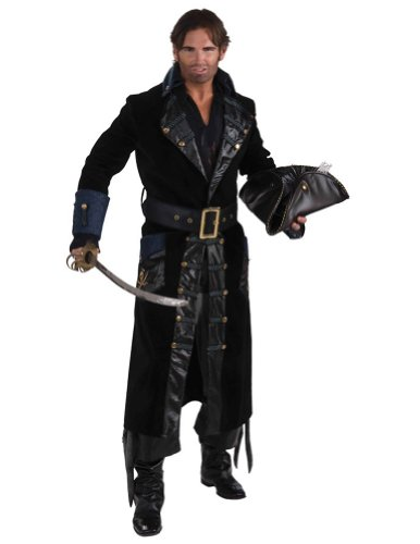 Blackbeard Lg 46-48 Adult Mens Costume