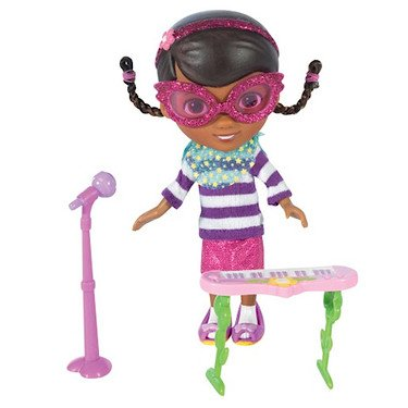 Disney Doc McStuffins 5 Inch Action Figure Doll Rock Star Doc