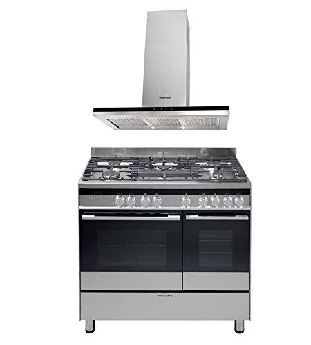 fisher-paykel-hc90bcxb2-cooker-hood-with-or90ldbgfx3-90cm-dual-fuel-range-cooker