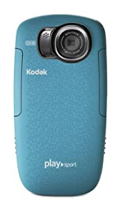 Kodak PlaySport (Zx5) HD Waterproof Pocket Video Camera - Aqua (2nd Generation)
