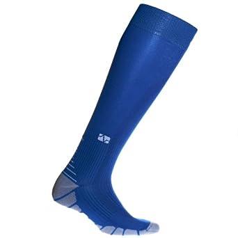 Vitalsox Graduated Performance Compression Padded Sport Socks (Royal Blue, XS)