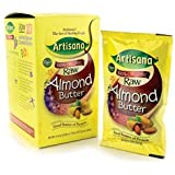 Artisana, 100% Organic Raw Almond Butter, 10 Packets, 1.19 oz (33.7 g) Each
