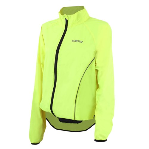Proviz Hi-Viz Pack'it Jacket -Womens Yellow 12
