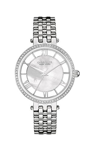 Caravelle New York Women's Quartz Watch with Transparency Analogue Quartz Stainless Steel 43L183