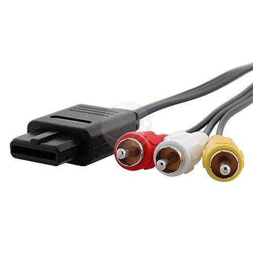 RCA AV TV Video Cord Cable for Nintendo 64 N64 GameCube