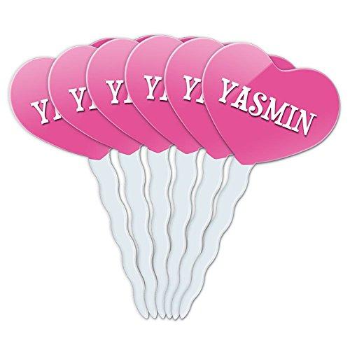 pink-heart-love-set-of-6-cupcake-picks-toppers-decoration-names-female-ya-yv-yasmin
