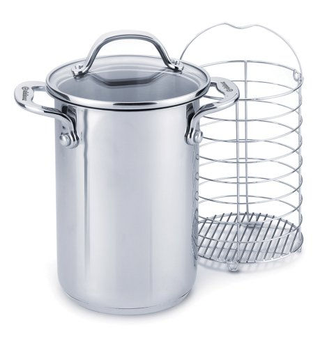 Cuisinox Elite 3.4 Quart Covered Asparagus Steamer