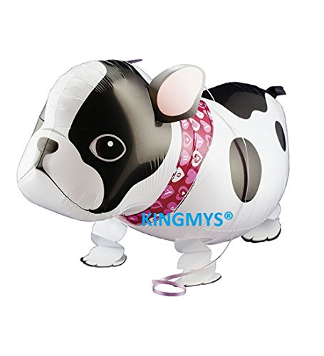KINGMYS® Your Own Pet Balloons Walking Animal Balloon Pets Air Walkers, Eco Balloon! Huge Balloon! Many Styles! (Angry Doddy)