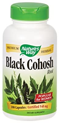 Nature's Way - Black Cohosh Root, 515 mg, 180 capsules [Health and Beauty]