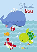 Under the Sea Thank You Note Cards, 8ct from Unique