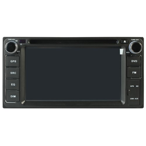 Car Stereo For Toyota Matrix & Toyota Corolla Ex & 2002-2006 Camry & 1996-2005 Rav4 & 2001-2007 Highlander & Old Land Cruiser & Fj Cruiser & Hilux & Previa & Vits & Vela Indash Navigation System Touchscreen Double-Din Car Dvd Player & Gps Navigation, Buil