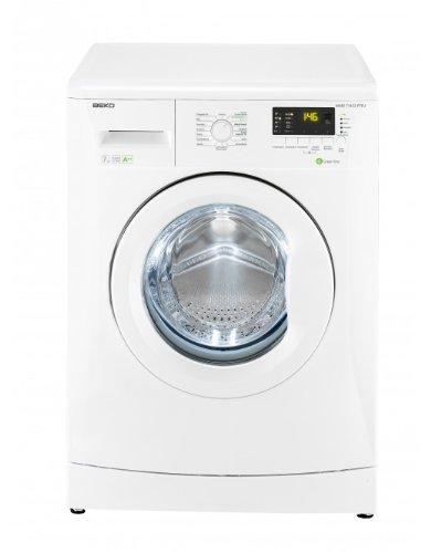 Beko WMB 71432 PTEU Waschmaschine Frontlader / A++B / 194 kWh/Jahr / 9020 Liters/Jahr / 1400 UpM / 7 kg / Multifunktionsdisplay / 15 Waschprogramme / Pet Hair Removal / weiß