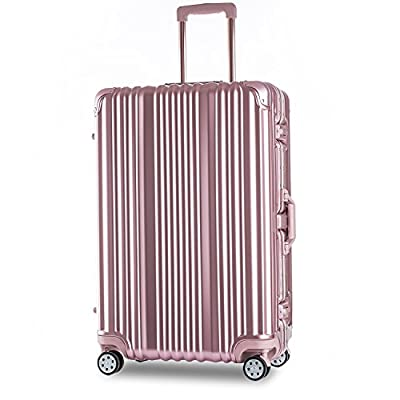 Merax Travelhouse Aluminium Frame HardShell Luggage TSA Approved Suitcase